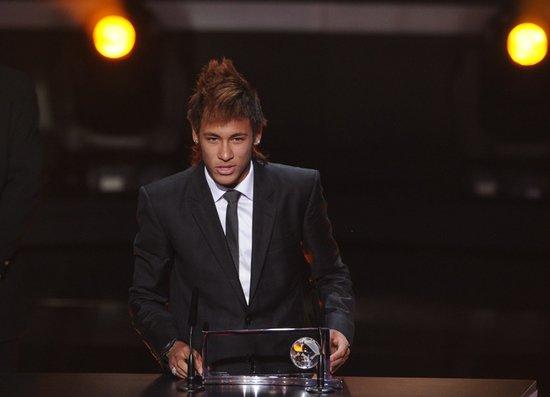 2011国际足联颁奖礼 内马尔获普斯卡什奖