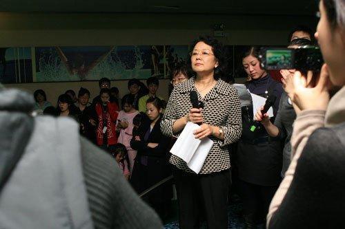 体育总局启反腐风暴 花游部前部长俞丽被调查