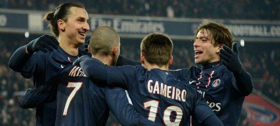 法甲-巴黎1-0蒙彼利埃 伊布助领头羊八分领跑