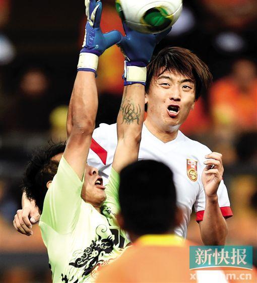 杨旭上演帽子戏法 赛后表示国足进球来得晚