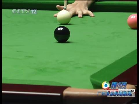 视频:斯诺克男单决赛 丁俊晖翻中袋失误