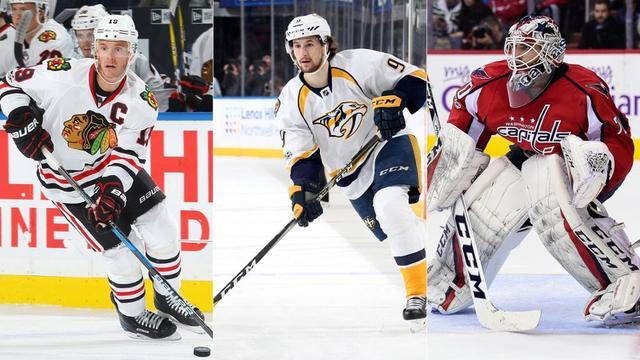 NHL2月最佳三星 黑鹰队长生涯第4个帽子戏法