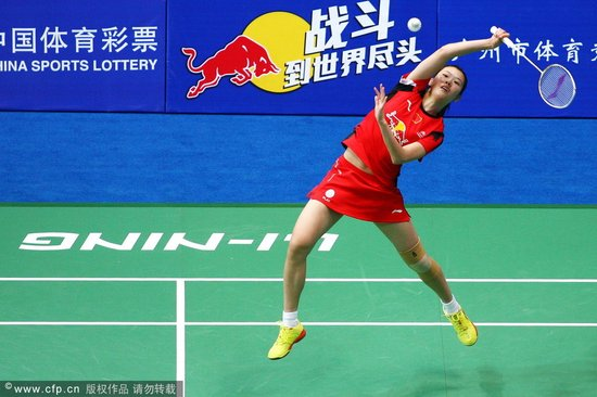 世锦赛-李雪芮20分钟速胜 2-0横扫对手进16强