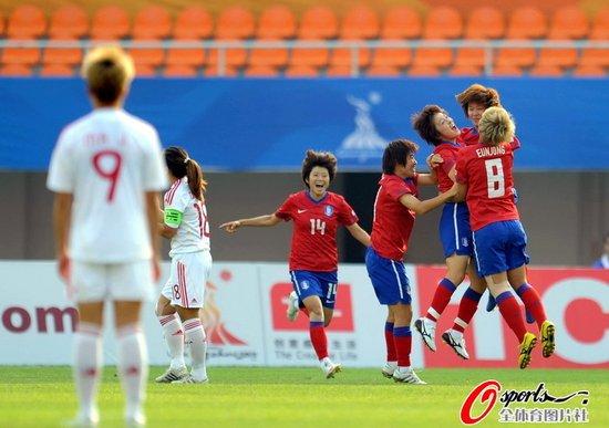 亚运-女足0-2负韩国无缘奖牌 创历史最差战绩