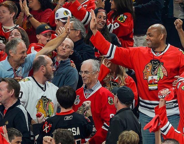 巴克利:NHL远比NBA精彩 渴望当冰球解说嘉宾