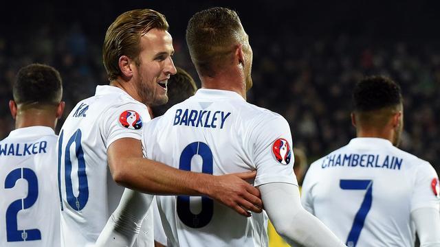 欧预赛-英格兰3-0豪取10连胜 巴克利世界波