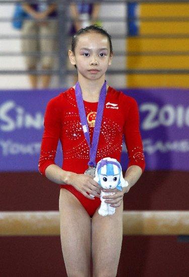 中国体操名将之谭思欣