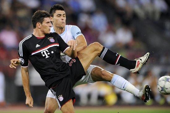 欧冠-拜仁总比分3-0进正赛 穆勒助戈麦斯破门