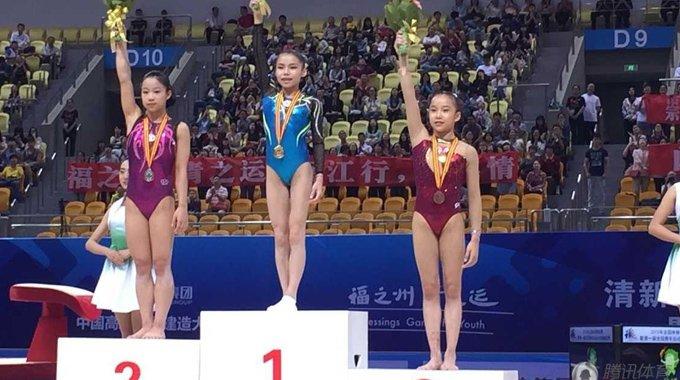 2015全国体操锦标赛落幕 小将颜值爆表