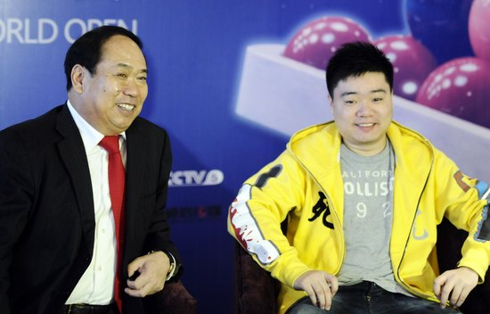 甘连舫:丁俊晖是我干儿子 赞助比赛是飞跃