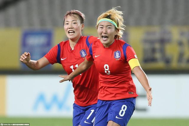韩国2-1日本迎2连胜 中岛优美破门田佳儿绝杀
