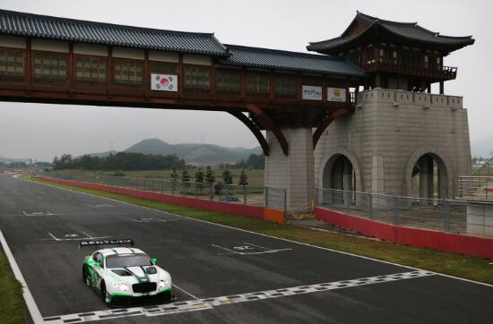 GT亚锦赛韩国练习赛 利来国际车手莱昂斯夺魁