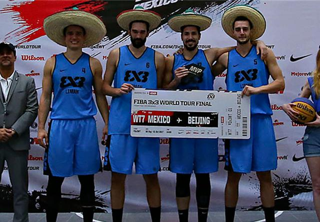 再下一城!利曼夺得3X3墨西哥城站大师赛桂冠