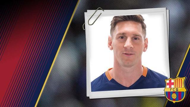 巴萨一队球员介绍之莱奥内尔-梅西
