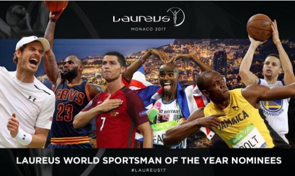 C罗入围劳伦斯奖候选 皇马葡萄牙争最佳运动队