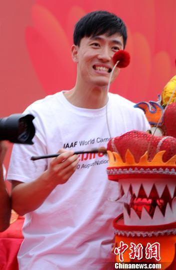 刘翔出席北京田径世锦赛活动 复出时间仍成疑