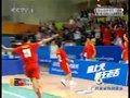 视频:藤球男子团体 中国队赢得第二盘对决
