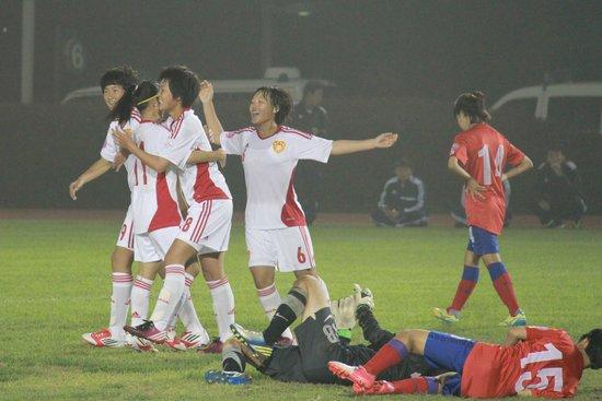 U14女足国少5-0横扫韩国 取6分提前小组出线