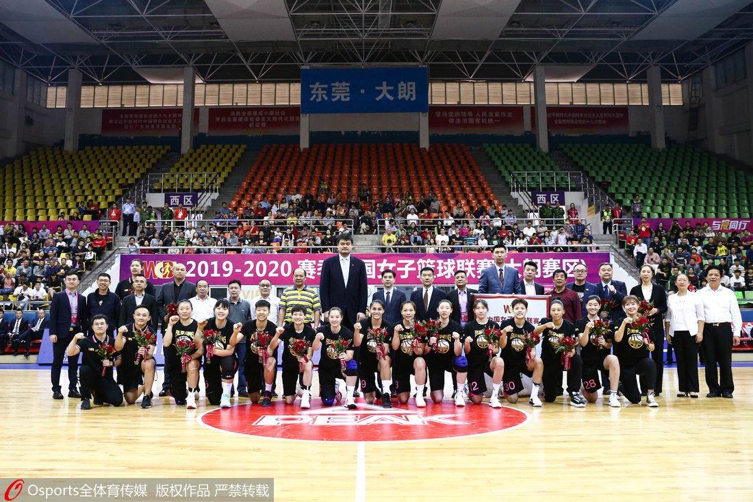 WCBA新赛季揭幕
