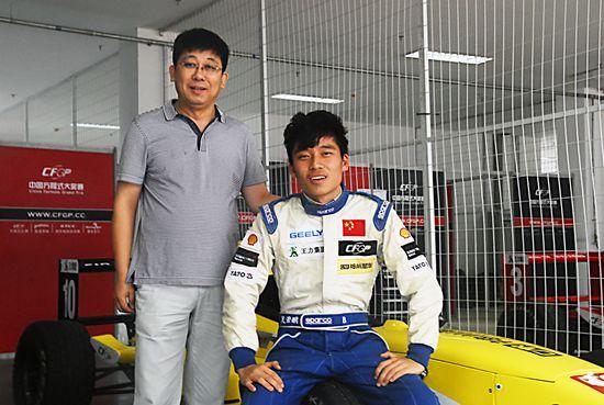 吴若鹏:八岁梦中学会开车 职业生涯从未碰撞