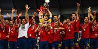 西班牙成功卫冕欧洲杯