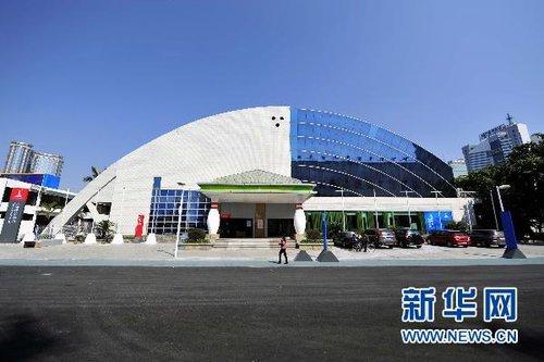 亚运场馆巡礼大世界保龄球馆(组图)