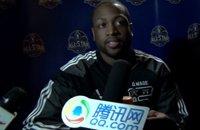 独家专访韦德:全明星只想放松 今夏必去中国