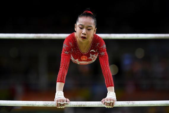 孤芳不自赏!范忆琳蝉联世锦赛高低杠冠军