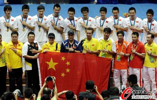 中国3-1韩国亚运成功卫冕 林丹险胜风云失利