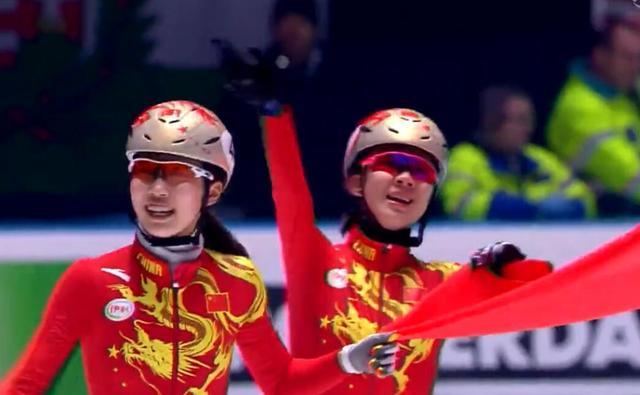 短道世锦赛中国女子接力夺冠 男队收获银牌