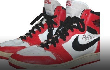 乔丹85年全明星战靴拍卖 已有人出价6655美元
