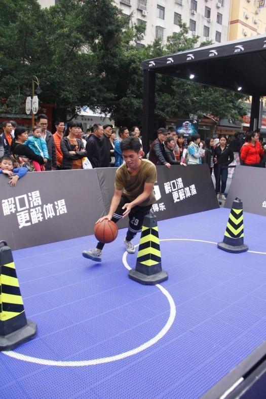 分庭对抗 2016安踏广东城市三人篮球赛涌现双冠王