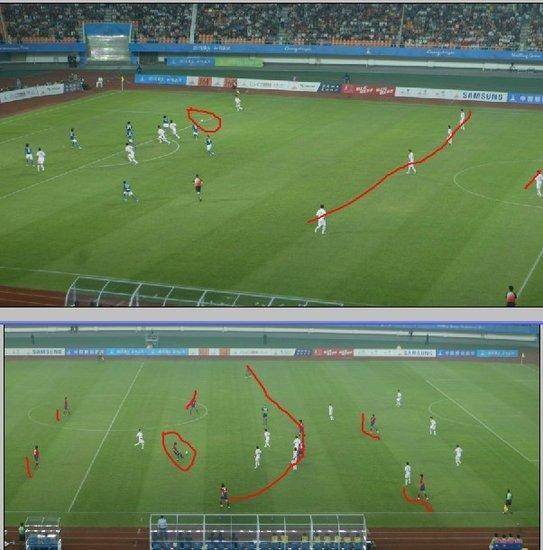 攻防两瞥证中韩沟壑 中国足球究竟差在哪(图)