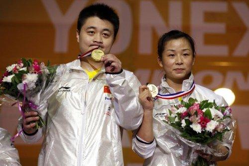 郑波/马晋2-0轻取何汉斌/于洋 加冕混双冠军