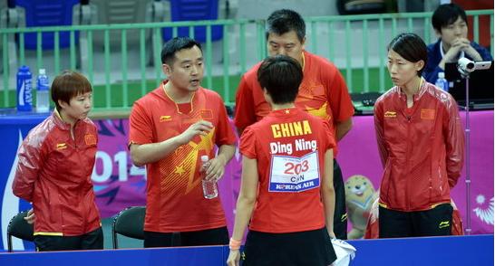 30日亚运乒乓球包揽:中国综述男女团体冠军舞龙舞狮喜庆词图片