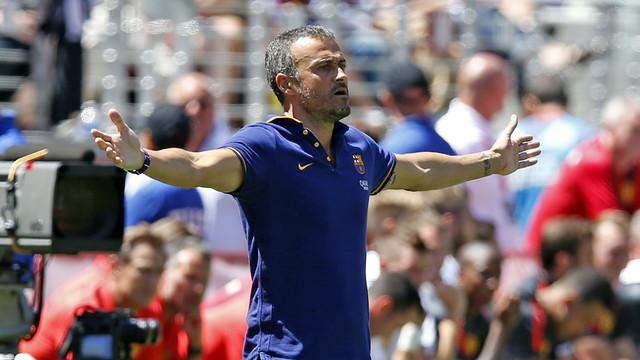 Enrique: Barca must forget the triple crown scratch hit the new season