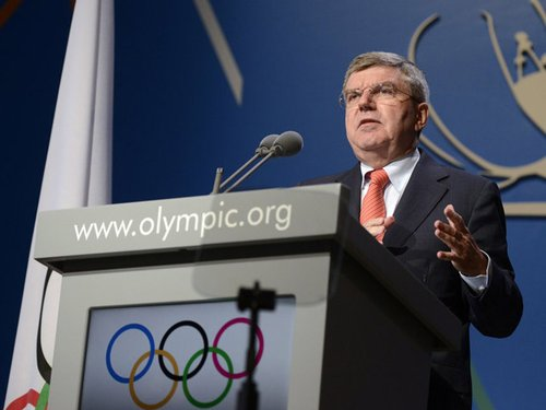第九任国际奥委会主席巴赫截图
