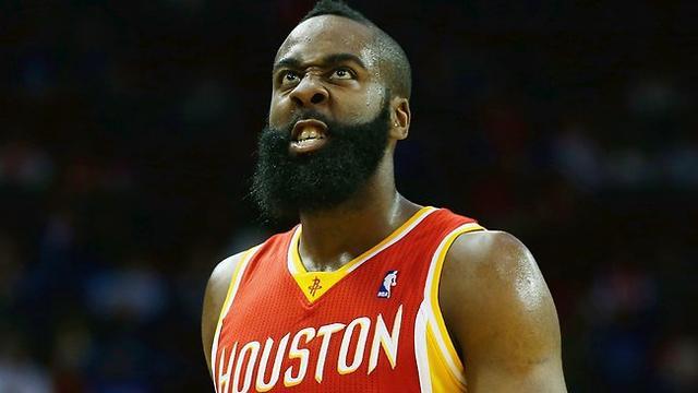 火箭0-2勇士!你是不是想剪掉哈登的胡子解气?