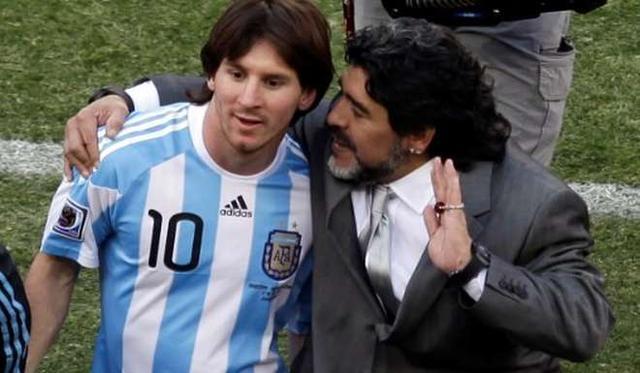 马拉多纳:梅西退出又回归 这可能是玩手段