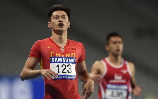全国大奖赛谢震业200米夺冠 张培萌仅获第四名
