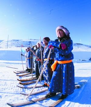 古老滑雪文化驱动阿勒泰滑雪产业 野雪成特色