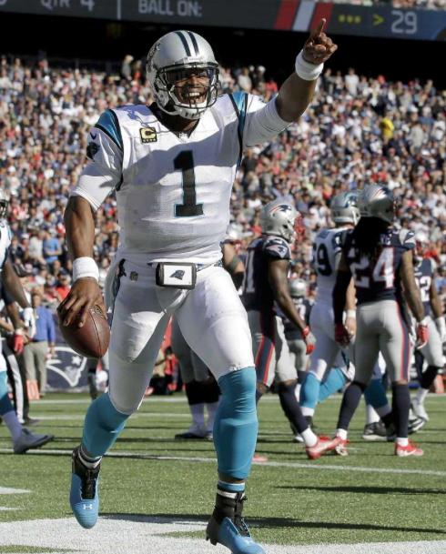 NFL红黑榜:牛顿重现MVP表现 爱国者防守巨坑