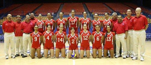 2010世界女排大奖赛波多黎各队完全名单