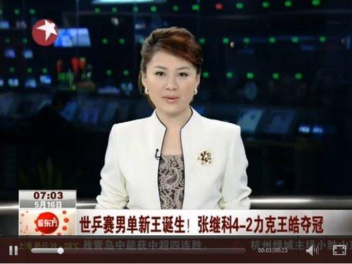 视频:世乒男单新王诞生 张继科4-2力克王皓