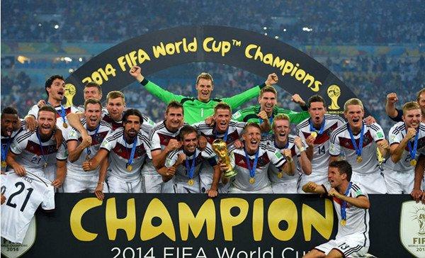 2014年世界杯德国队夺冠