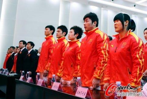 读图时代:广州亚运会中国代表团誓师