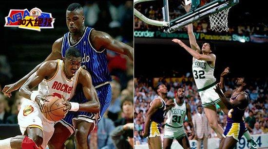 NBA30大绝技之内线脚步:魔兽双导师皆精此道