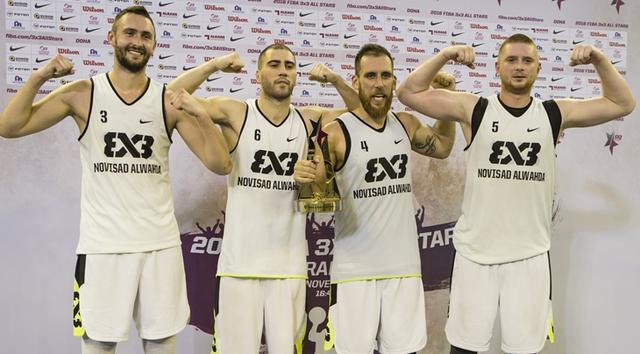 FIBA3X3全明星赛落幕 诺维萨德连续三年称雄