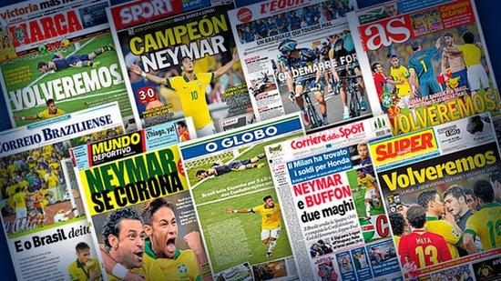 全球媒体热议内马尔联合会杯表现