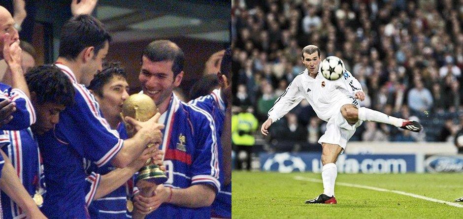 回顾齐祖职业生涯 98世界杯成就一代宗师